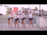 Опа-опа-опа-па Remix, electro. Креативные танцы людей в военной форме.