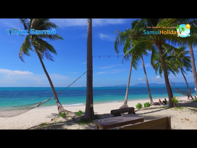 Relax video Koh Samui Thailand 4K video Amazing beach