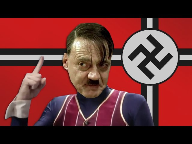 We Are Number One but it's performed by Adolf Hitler