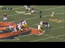 Antonio Brown knocked out by Vontaze Burfict  HD