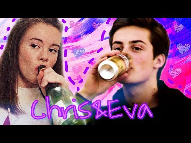Крис и Ева | Chris × Eva | Виски Кола ♡