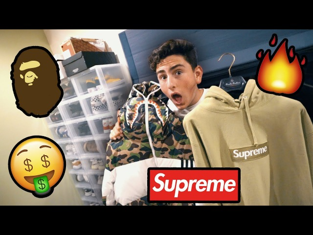 MY FRIEND'S HYPEBEAST SNEAKER AND CLOTHING COLLECTION!