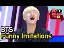 방탄소년단 미친 개인기 모음ㅋㅋ   BTS Funny Imitations lol (Eng Sub Available)