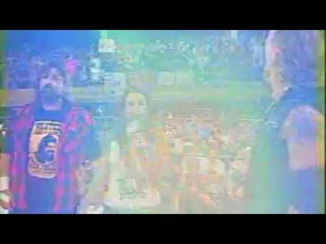[Nation of Wrestling] Mick Foley, Edge, Lita vs Terry Funk, Tommy Dreamer, Beulah McGillicuty - ECW One Night Stand 2006