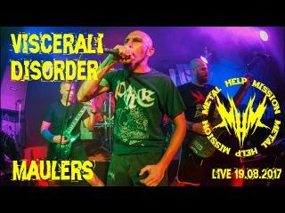 Visceral Disorder - Maulers [Рок-клуб
