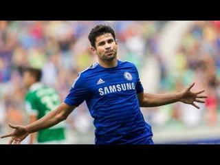 Гол Диего Коста 41', Мидлсбро-Челси 0:1