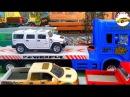 Мультик про машинки для мальчиков гонки аварии гоночная полицейская машина мул ...