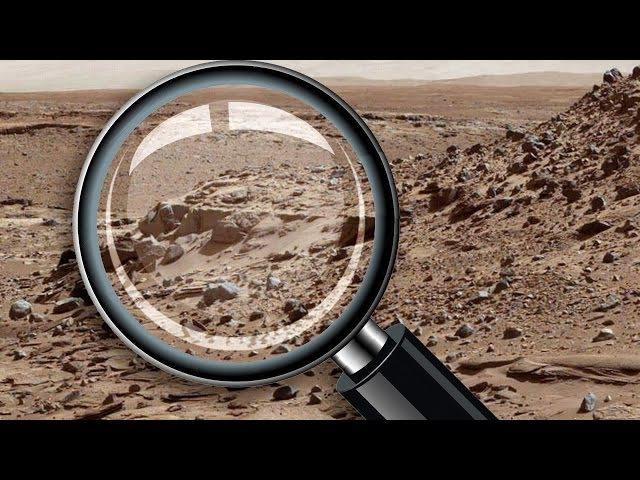 Ruinas de una vivienda en Marte. Foto de Curiosity - Pareidolia
