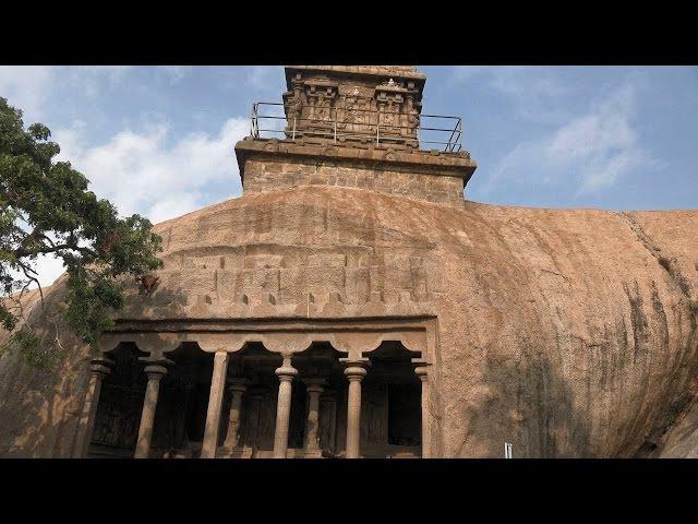 Monuments at Mahabalipuram Tamil Nadu India in 4K Ultra HD