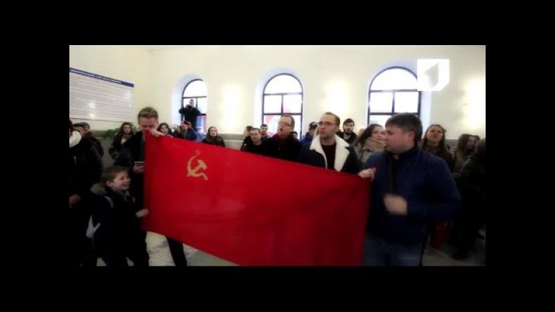 САМЫЙ МОЩНЫЙ флешмоб! Тирасполь, Приднестровье. МУРАШКИ ПО КОЖЕ