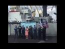 Чиновники-дятлы поют гимн Украины углевозу США. Видео. ШиЖ Только 18