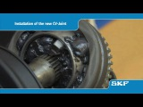 SKF - How to replace an SKF CV-Joint (VKJA 5342) on the Renault Laguna I 1.8 - uk playlist