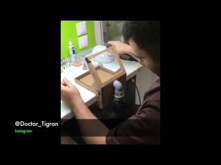 Самодельный зуботехнический вытяжной модуль из картона. Эффективность лучше чем у заводского :-)