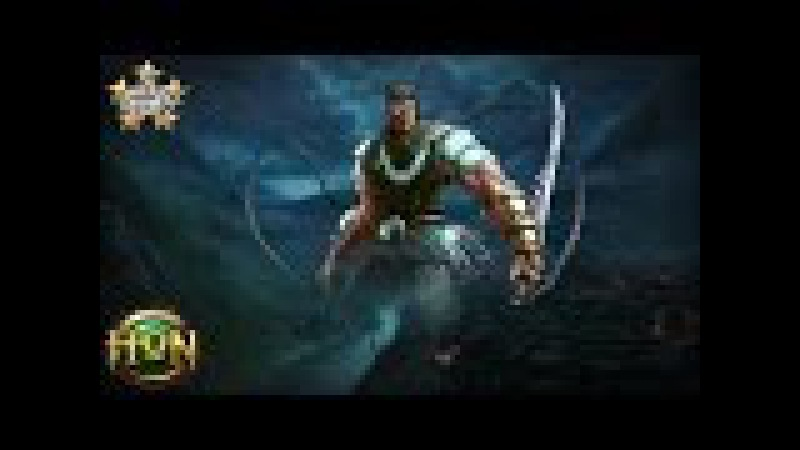 HoN Pro Berzerker Gameplay / Demon Hunter Zerker / BloodLaw - Immortal