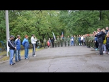 В Горловке состоялся легкоатлетический пробег, посвященный Дню Города! Молодая Гвардия Донбасса приняла в нем участие. 2 сентябр