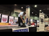 2017 Odd Haugen Vise Grip Arm-lifting Challenge IronMind Rolling Thunder