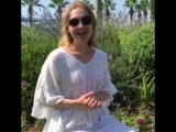 Анна Долгушина на отдыхе в турции