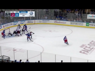 Highlights: COL vs NYR Oct 5, 2017