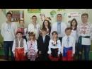 Учні Попаснянської загальноосвітньої школи І-ІІІ ступенів № 24 підтрєдналися до флешмобу «Шануймо рідну мову».