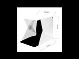 Обзор PhotoStudio. Для handmade-мастера легкий и удобный фотобокс, лайтбокс со светодиодной подсветкой.
