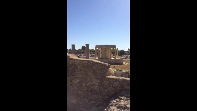 Античный город Сде,в переводеГранат.Храмы Афины Аполлона,Некрополь,римские термы