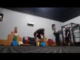 Томас Мартин - тяга 410 кг с 5 см