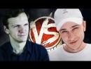 КТО ЖЕ ВСЕ ТАКИ ПОБЕДИЛ؟ Эльдар Джарахов vs Дима Ларин. versus bpm⁄ версус