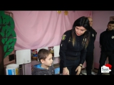Патрульные в канун Нового года вручили детям подарки
