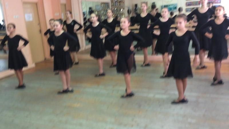 Урок русского народного танца