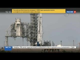 В США отменен пуск ракеты Falcon 9 с кораблем Dragon на последних минутах