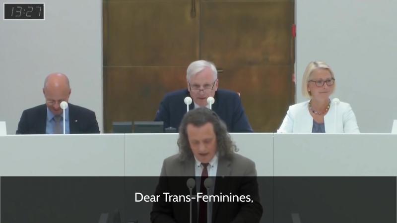 Госпожа или господин канцлер, Альтернатива для Германии отклоняет ваше предложение.