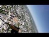 Navy SEALS Insane Parachute Jump into Football Stadium!