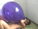 Oksana b2p a big blue balloon