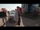 Валентино Росси в Арагоне со сломанной ногой