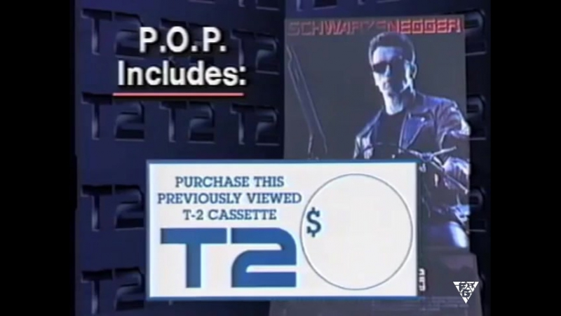 Promo Terminator 2 Judgment Day ( VHS 1991 )