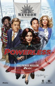 Бессильные / Powerless (Сериал 2017)