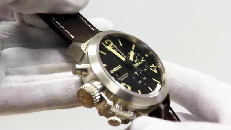 U-Boat Classico Sansibar Edition 7453 Chronograph 48 mm Sterlingsilber
