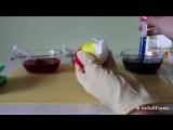 Как покрасить Яйца в Радужные Цвета - Rainbow Easter Eggs Tutorial ✿ NataliDoma