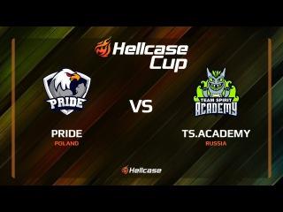 PRIDE vs TS.Academy, train, Hellcase Cup 6