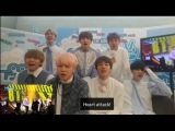 BTS reaction to Not Today & Spring Day Show Music Core