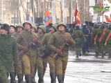 В Самаре спустя 75 лет на площади им. Куйбышева прошел Парад Памяти