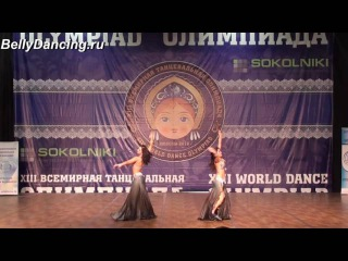 Алена Блохина и Екатерина Шпак . XIII World Dance Olympiad