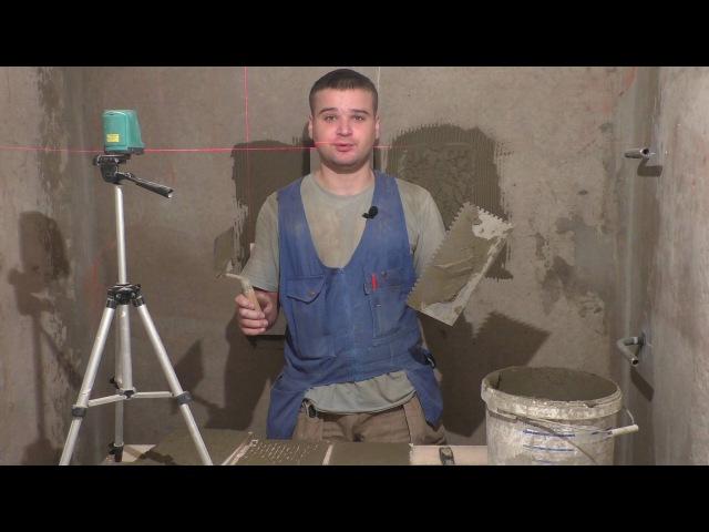 Способы нанесения плиточного клея.