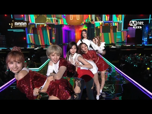 161202 트와이스(TWICE) CHEER UP TT 귀여운 무대 영상!
