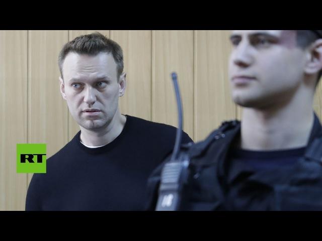Condenan a 15 días y $350 de multa al opositor ruso Navalny por manifestación no autorizada