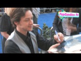 James McAvoy Signs at Gnomeo And Juliet Premiere in Hollywood