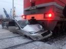 Самые жуткие аварии на переездах, аварии поездов (Подборка18+)