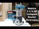 Makita Compact Router Overview- Model RT0701C