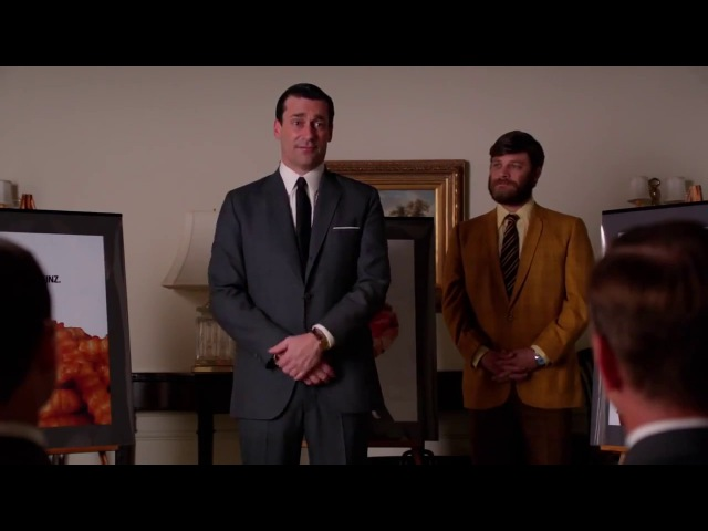 Mad Men: Don Draper pitches 'Pass the Heinz' idea to Heinz