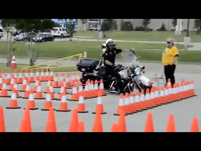 Соревнование JWA Police Rodeo